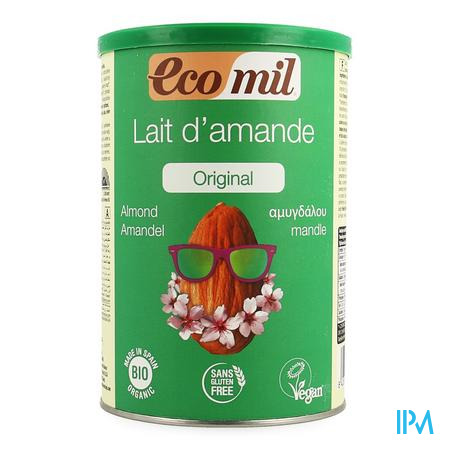 Ecomil Amandel Bio 400 gr