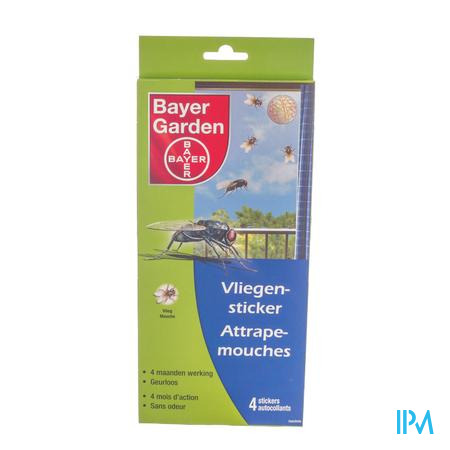 Bayer Vliegensticker 4 stuks
