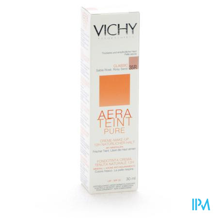 Vichy Aera Teint Fluide Classic Moyen 35r 30ml