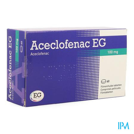 Aceclofenac Eurogenerics 100mg Film.tabl 60x100mg
