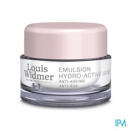 Louis Widmer Dagcrème Uv30 Hydro-Active (zonder parfum) 50 ml