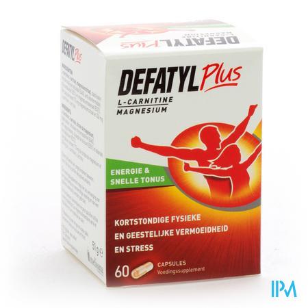 DEFATYL PLUS CAPS 60 VERVANGT 0607-309