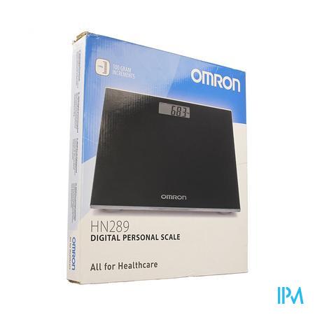 Omron Hn289-ebk Personenweegschaal Digitaal Zwart