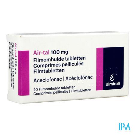 Air-tal Anti Inflammatoire Comp 20x100mg