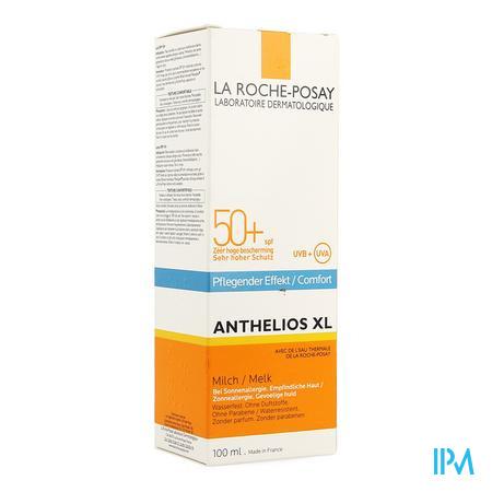 Afbeelding La Roche-Posay Anthelios XL Comfort Zonnemelk SPF 50+ voor Gelaat en Lichaam 100 ml.
