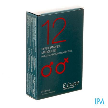 Eubage 12 Mannelijk Prestatievermogen Caps 30