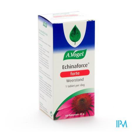 Afbeelding A. Vogel Echinaforce Forte voor Weerstand 60 Tabletten.