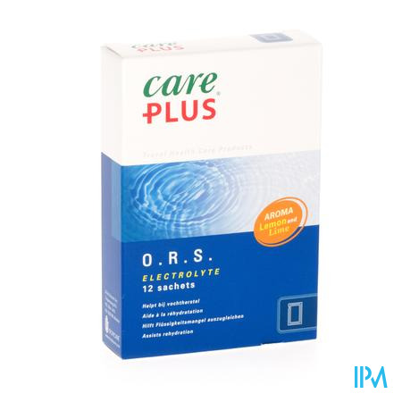 Care Plus ORS 12 zakjes