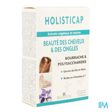 Holisticap Soin Cheveux-ongles Caps 60 Holistica