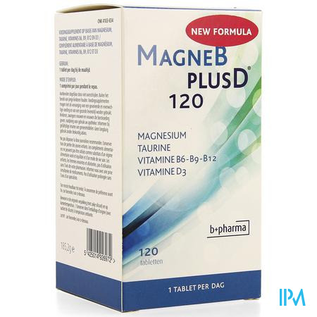Afbeelding Magne B plus D 120 Tabletten.