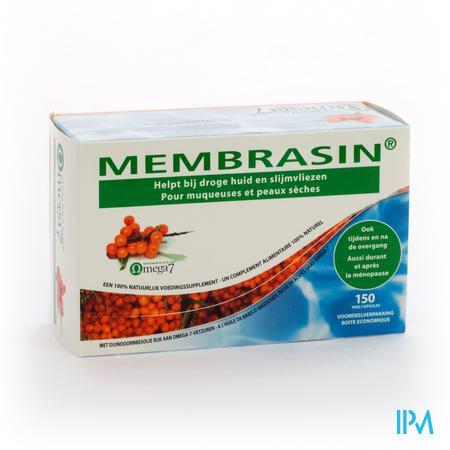 Farmawebshop - MEMBRASIN OMEGA 7 V-CAPS 150
