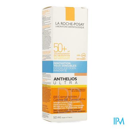 Afbeelding La Roche-Posay Anthelios Ultra BB Getinte Zonnecrème SPF 50+ voor Gelaat 50 ml.