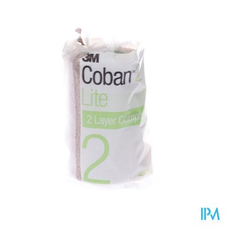 3M Coban 2 Lite Compressie 10Cm x 3.5M 1 stuk