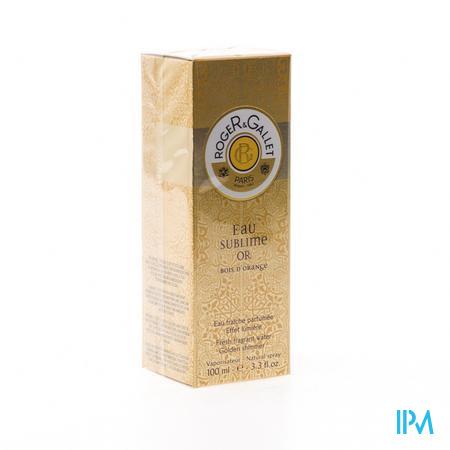 Roger & Gallet Bois D'Orange Eau Sublime Or 100 ml spray