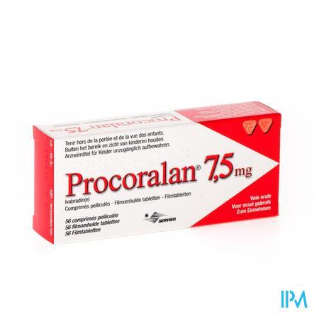 Procoralan 7,5mg Comp 56 X 7,5mg