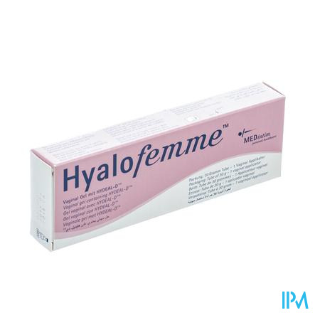 Hyalofemme Vaginale Gel + Applicator Tube 30g