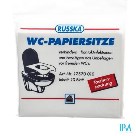Pharmex Wc-bril Beschermer Papier 10 Aca