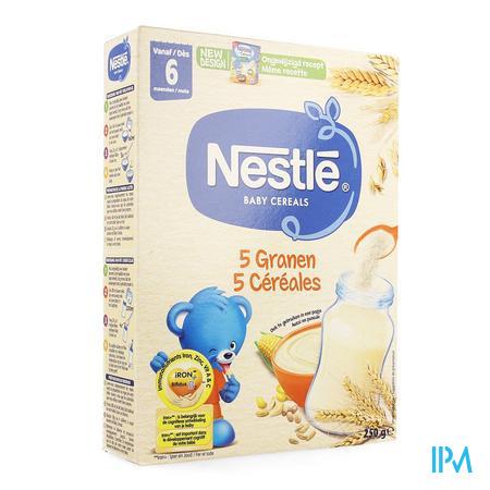 Afbeelding Baby Cereals 5 Granen 250g.
