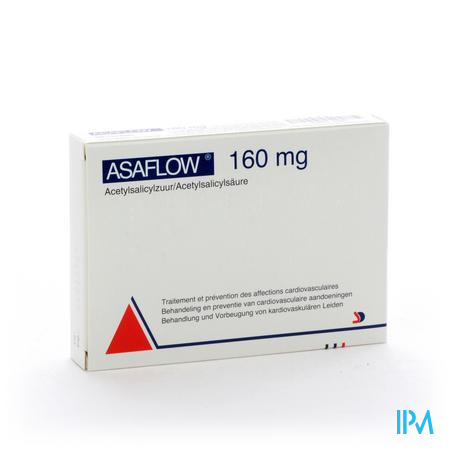 Afbeelding Asaflow 160 mg 56 tabletten.