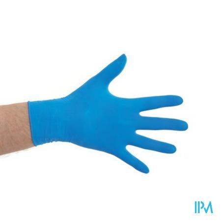 Cmt Handschoenen Latex Blauw Pv S 100