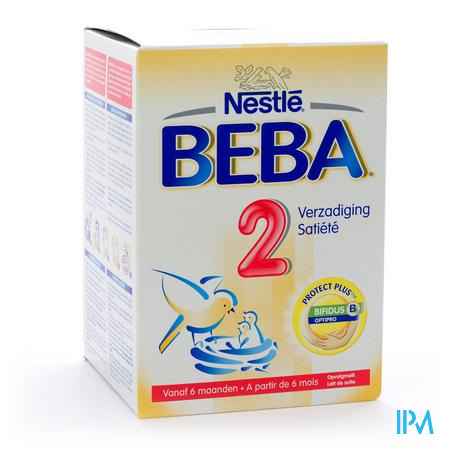Farmawebshop - BEBA 2 PDR 800G NF