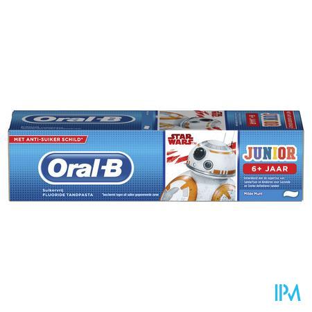 Afbeelding Oral B Pro Expert Stages Star Wars Tandpasta voor Kinderen tot 6 Jaar met Rode Bessen Bubblesmaak 75 ml.