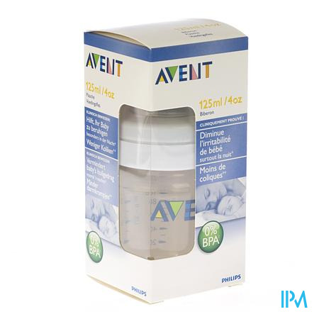 AVENT ZUIGFLES BPA-VRIJ POLYETHERSULFONE 125ML