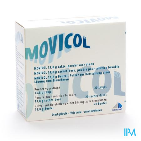 Farmawebshop - MOVICOL 20ZAK