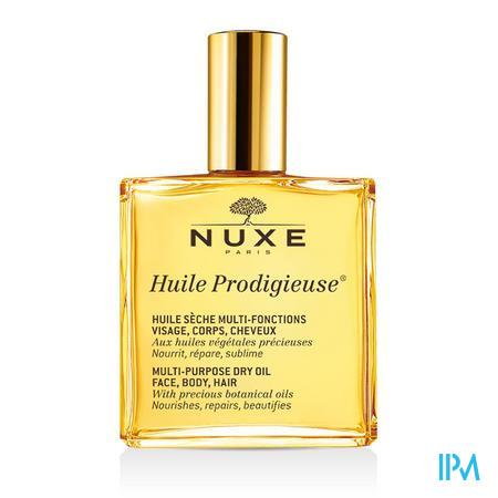 Afbeelding Nuxe Huile Prodigieuse Multifunctionele Droge Olie voor Gelaat, Lichaam en Haar voor Alle Huidtypes Sprayflacon 100 ml.