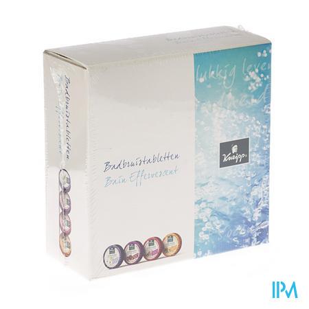Kneipp Badbruistabletten Geschenkset 4 x 80 g bruistabletten