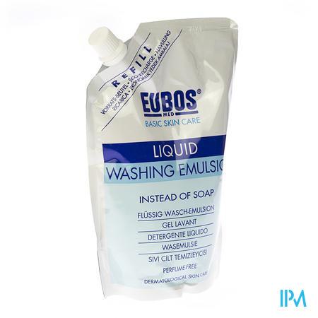 Eubos Blauw Vloeibaar Navulling 400 ml