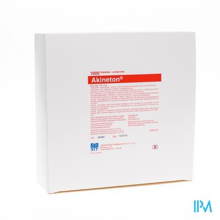 Akineton 1000 Tabl 2mg