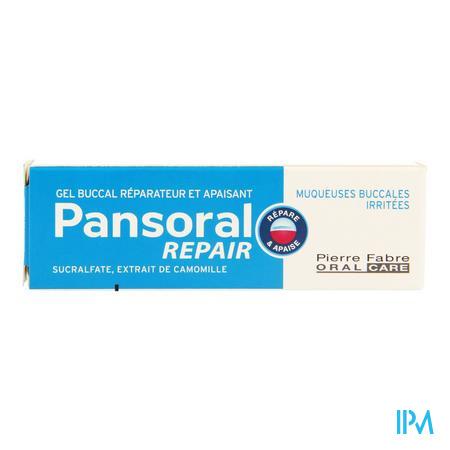 Pansoral Repair Gel Buccal Tube 15ml