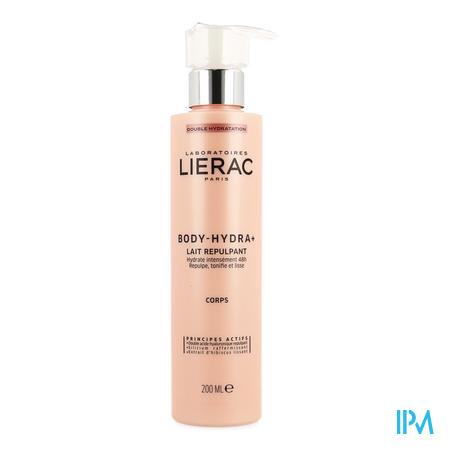 Afbeelding Lierac Body-Hydra+ Hydraterende Verstevigende Melk voor Lichaam Pompflacon 200 ml.