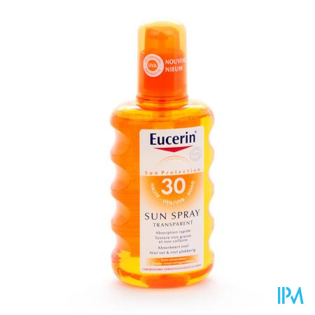 Eucerin Sun Spray Tranparent Ip30 200ml