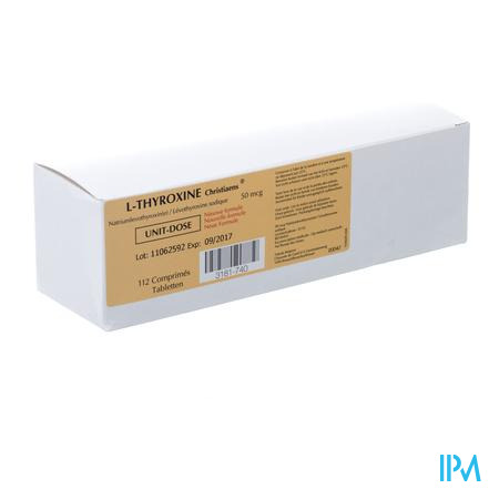 L-thyroxine 112 Comp 50 Mcg Ud Nm