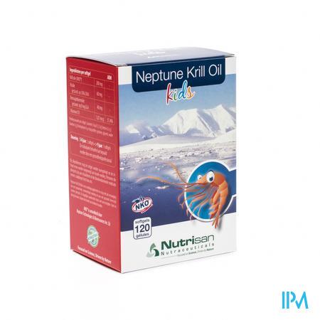 Nutrisan Neptune Krill Oil Kids 120 capsules