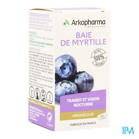 Arkogelules Myrtille Baie Vegetal 45