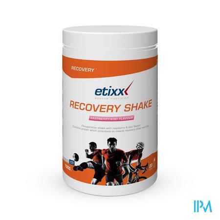 Afbeelding Etixx Recovery Shake met Framboos-Kiwi Smaak 1000 g.