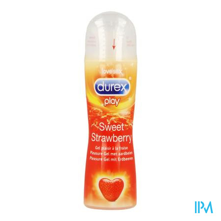 Durex Play Sweet Strawberry Glijmiddel Gel 50ml
