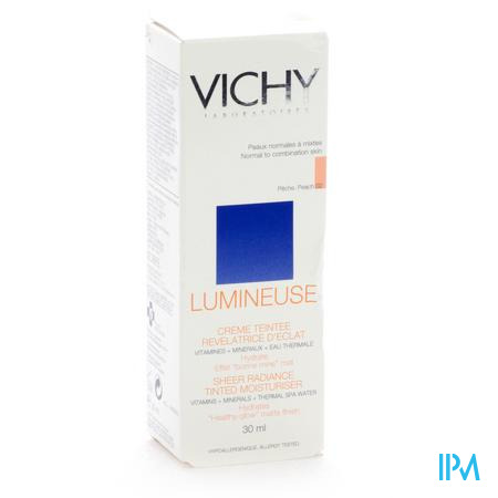 Vichy Lumineuse Peaux Normale/Mixte Pêche 30 ml tube