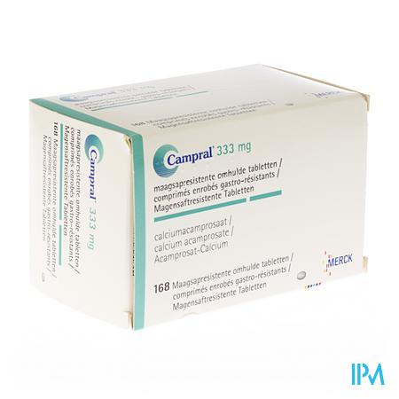 Campral Comp 168 X 333mg