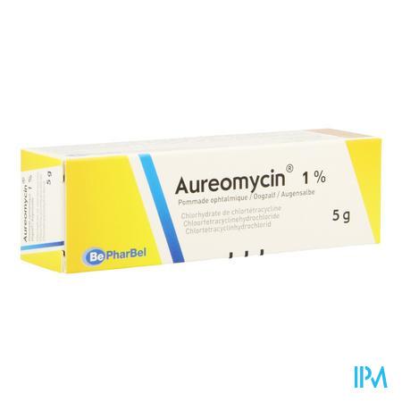 Afbeelding Aureomycine oogzalf.
