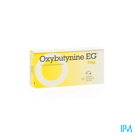 Oxybutynine Eg Comp 30 X 5mg