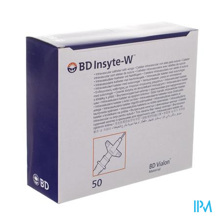 Bd Insyte-w Cath.iv 22g 1 0,9x25mm Blauw 50 381323
