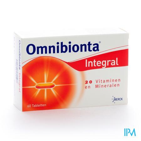 Farmawebshop - OMNIBIONTA INTEGRAL 60TAB
