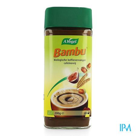 Afbeelding A. Vogel Bambu Biologische Cafeïnevrije Koffievervanger 200 g.