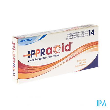 IPPRACID 20 MG 14 TABL              (geneesmiddel)