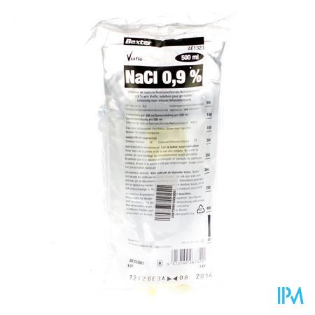 Baxter Hartmann Nacl 0,9% Viaflo 500ml