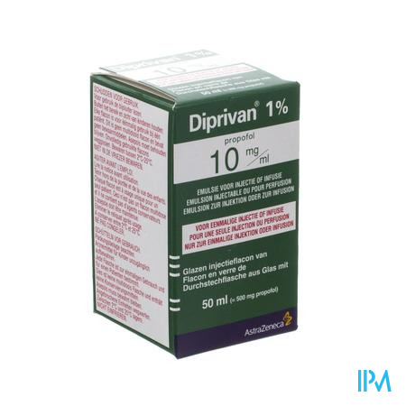 Diprivan 1 Vial 50ml Klinv